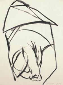 Erot. Zeichnung II_2013_Kohlezeichnung_40x50