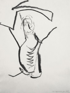 Erot. Zeichnung IV_2013_Kohlezeichnung_40x50