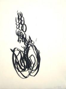 Erot. Zeichnung IX_2013_Kohlezeichnung_40x50