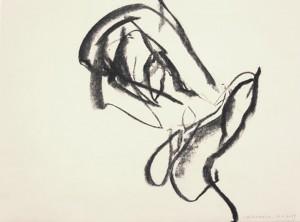 Erot. Zeichnung I_2013_Kohlezeichnung_40x50