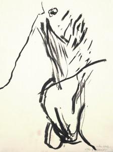 Erot. Zeichnung VIII_2012_Kohlezeichnung_40x50