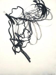 Erot. Zeichnung VI_2008_Kohlezeichnung_40x50