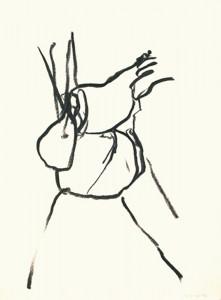 Erot. Zeichnung X_2012_Kohlezeichnung_40x50