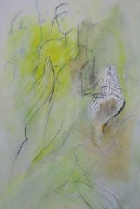 Sentiro Degli Deo_2007, Acryl a. Leinwand, 150x100