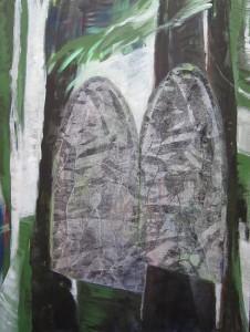 Im Wald II, Ute Flemming